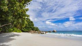 Paradise beach at anse lazio on the seychelles 91 Royalty Free Stock Photo