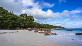 Paradise beach at anse lazio on the seychelles 19 Royalty Free Stock Photos