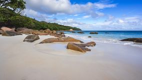 Paradise beach at anse lazio on the seychelles 20 Stock Image