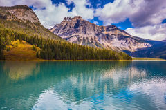 The turquoise water in mountains Stock Image