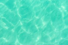 Glare on the sea surface. Turquoise water surface. Glare on the sea surface Stock Photo