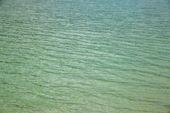 Turquoise Water Waves Background of Ocean or Lake Royalty Free Stock Image