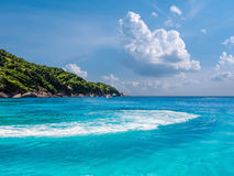 Turquoise waters of Andaman Sea Royalty Free Stock Photos