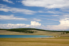 Turquoise Waters of Khovsgol Lake Royalty Free Stock Photography