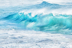 Turquoise waves at Sandy Beach, Hawaii Stock Image