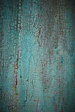 Turquoise weathered wood texture Royalty Free Stock Images