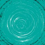 Turquoise whirl pattern Stock Photo