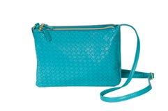 Turquoise Women's handbag. Stock Photography