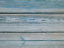 Turquoise Wood background - painted wooden planks for desk table wall or floor Stock Photography