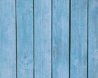 Turquoise Wood background - painted wooden planks for desk table wall or floor Stock Images