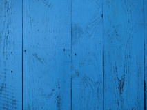 Turquoise Wood background - painted wooden planks Stock Photo