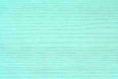 Turquoise wood-like veneer Royalty Free Stock Photography