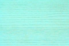 Turquoise wood-like veneer royalty free stock photography