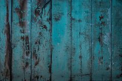 Turquoise Wood texture royalty free stock image