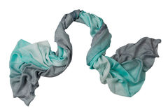 Turquose  scarf Stock Image