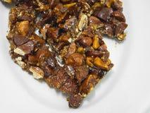 Turrón del chocolate. imagen de archivo libre de regalías