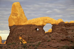 Turret Arch, Arches N.P. Royalty Free Stock Photography