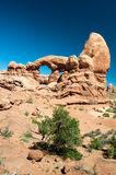 Turret Arch in Arches National Park Royalty Free Stock Images