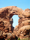 Turret Arch in Arches National Park Royalty Free Stock Photos