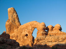 Turret Arch in Morning Light Royalty Free Stock Photography