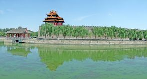 Turret of Beijing Imperial Palace Stock Photography