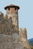 Turret at Castello di Amarosa Royalty Free Stock Photo