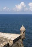 Turret. Turret at Castillo San Felipe del Morro in San Juan, Puerto Rico Royalty Free Stock Image