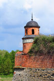 Turret of the castle in Dubno Royalty Free Stock Photos