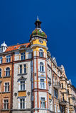 Turret and facade Art Nouveau building Stock Images