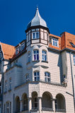 Turret and facade Art Nouveau building Royalty Free Stock Photography
