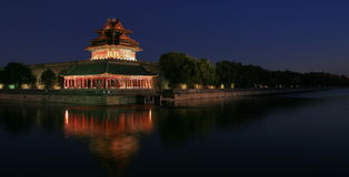 The turret of the Forbidden city Stock Photo