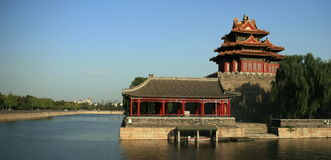 The turret of the Forbidden city Royalty Free Stock Image