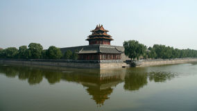 Turret of the Forbidden City Royalty Free Stock Image