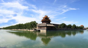 The turret of the Forbidden City Royalty Free Stock Photos