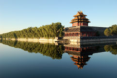 Turret, Forbidden city Royalty Free Stock Photography