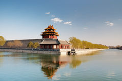 Turret of Forbidden City. A turret of Forbidden City, Beijing, China Royalty Free Stock Photography