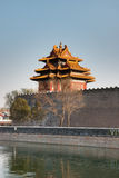 Turret of Forbidden City. A turret of Forbidden City, Beijing, China Stock Photography