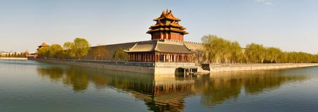 Turret of Forbidden City. A turret of Forbidden City, Beijing, China Stock Photo