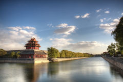 Turret of the Forbidden City Stock Photo