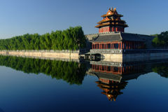 Turret,Forbidden city China Stock Photo