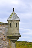 Turret at Fortress of Louisbourgh Stock Photography