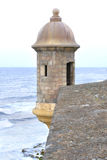 Turret at the fortress of San Juan Royalty Free Stock Photography