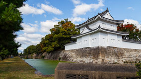 A Turret in front of Nijo Castle in Kyoto Stock Photo