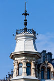 Turret on the house Stock Images