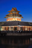 The Turret of the Imperial Palace in forbidden cit Royalty Free Stock Image