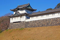 Turret in imperial palace Royalty Free Stock Photos