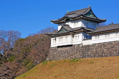 Turret in imperial palace stock images