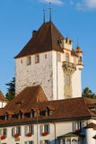 Turret of Oberhofen Castle Royalty Free Stock Image