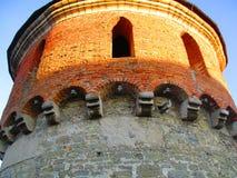 Turret of the old fortress, Kamenets Podolskiy, Ukraine. View of a turret of the old fortress Stock Photo