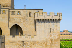 Turret in Olite Royalty Free Stock Photography